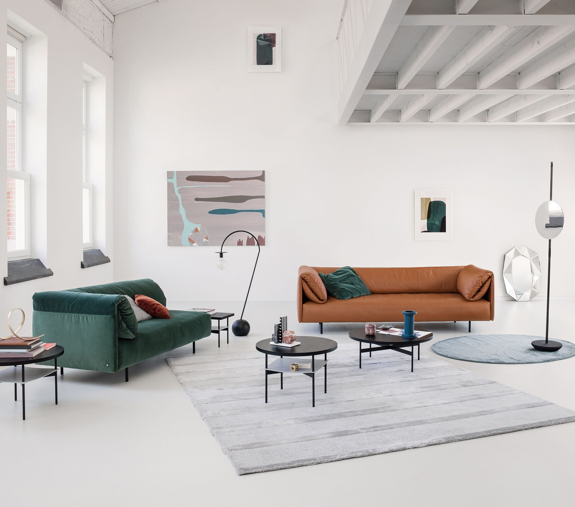 rolf benz modern furniture. A Colorful Sofa Can Add Contrast To Modern Home. Tthe New Rolf Benz Alma Furniture