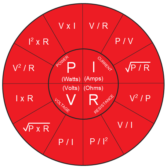 Https Www 12voltplanet Co Uk User Equation 20wheel 20 20main Png In 2020 Circuit Basics Formula Chart Circuit