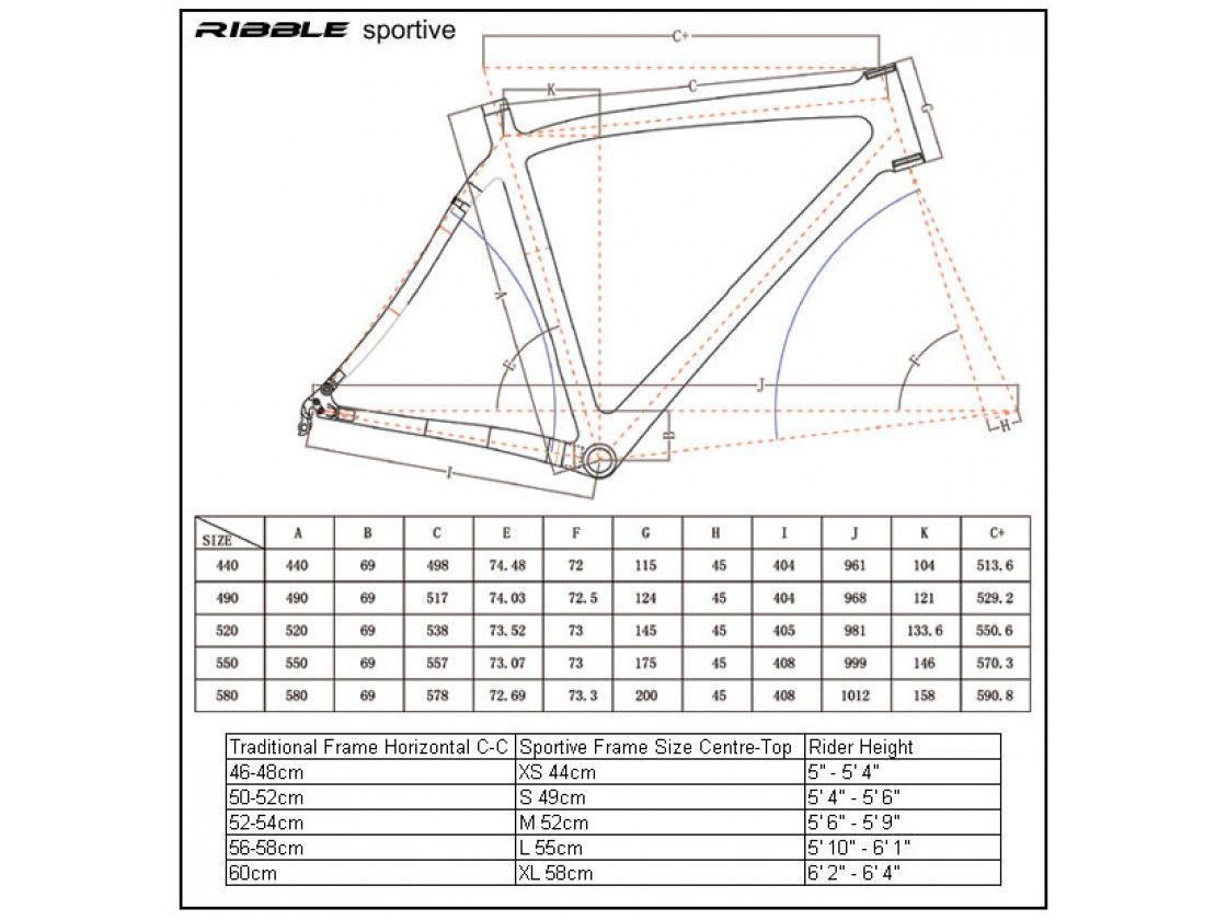 76bccbf7a8b Ribble Ti Sportive Racing Frame - Frames - Ribble Cycles | Ribble ...