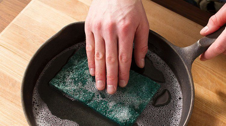 Heres how to get rid of rust spots on your castiron