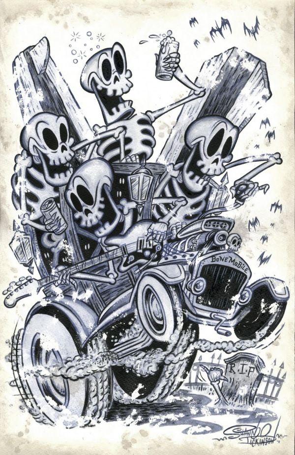 """Bonemobile"" by Shawn Dickinson"