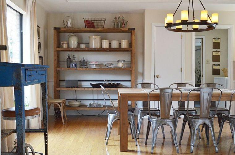 ideas para comedores vintage Interiores para comedor Pinterest