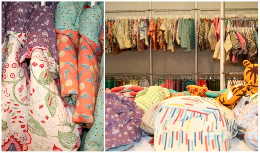 Var i den här butiken i Paris för några år sen... underbara japanska tyger, helt sjukt fina barnkläder.