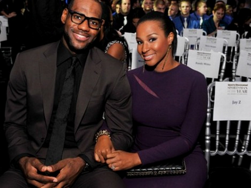Lebron James Gets Another RingThis Time Its a Wedding Ring