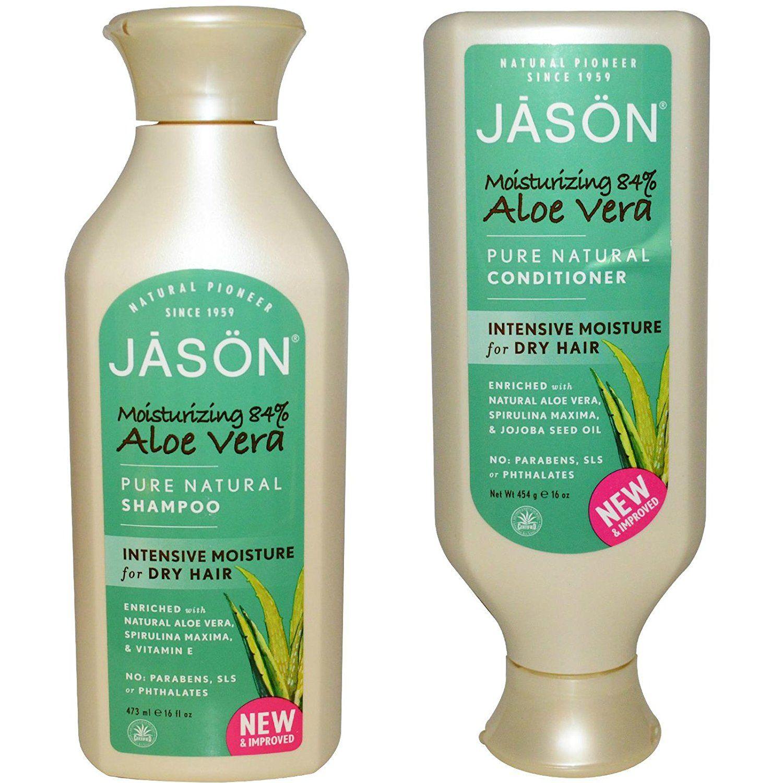 Jason natural moisturizing 84 aloe vera shampoo and