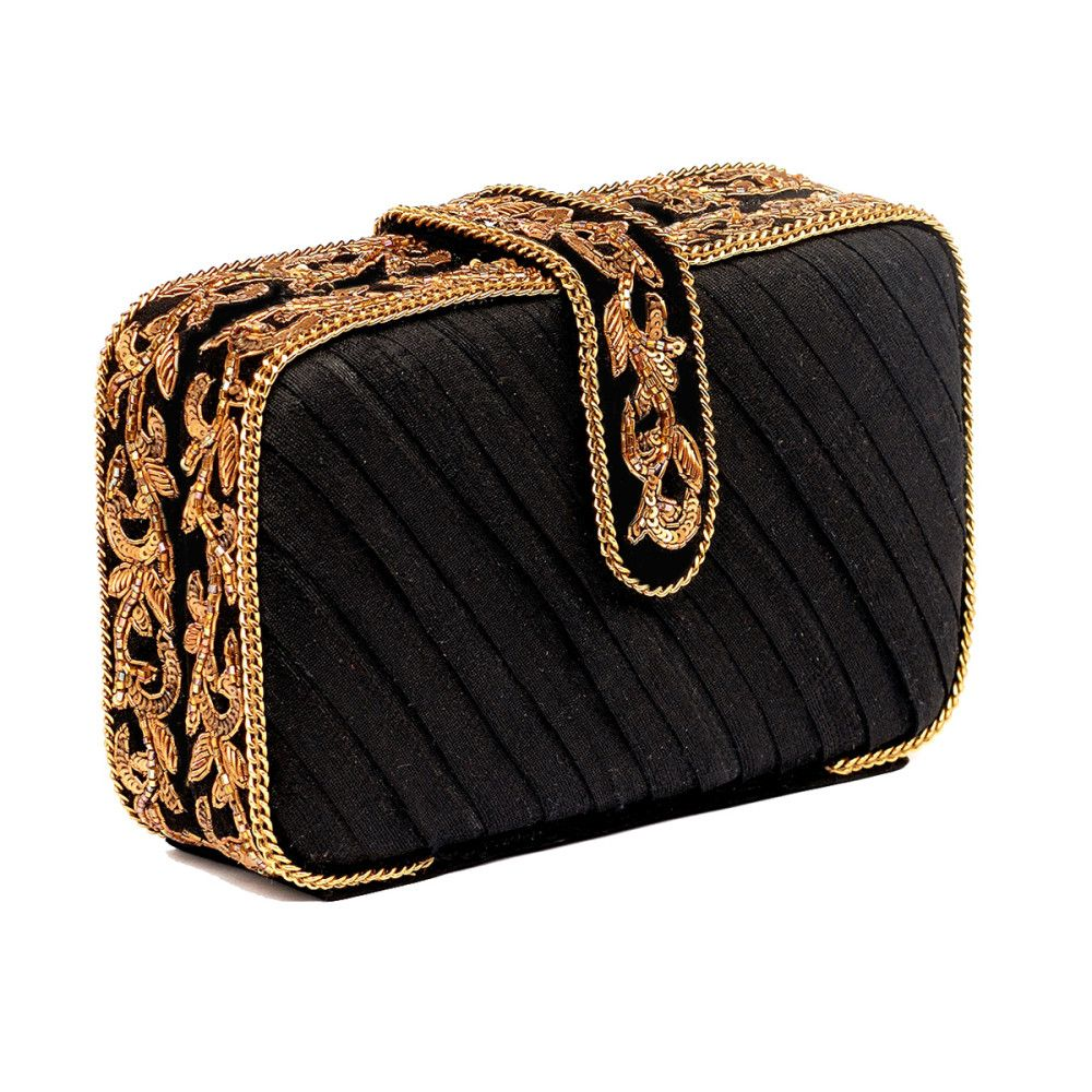 65c3efc01c3f3 PLEATED BOX CLUTCH out of 5 | Amazing Adornments | Bag accessories ...