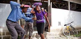 Erdbeben: Was tun, um sich zu schützen? Das richtige Verhalten bei Erdbeben kann Leben retten.