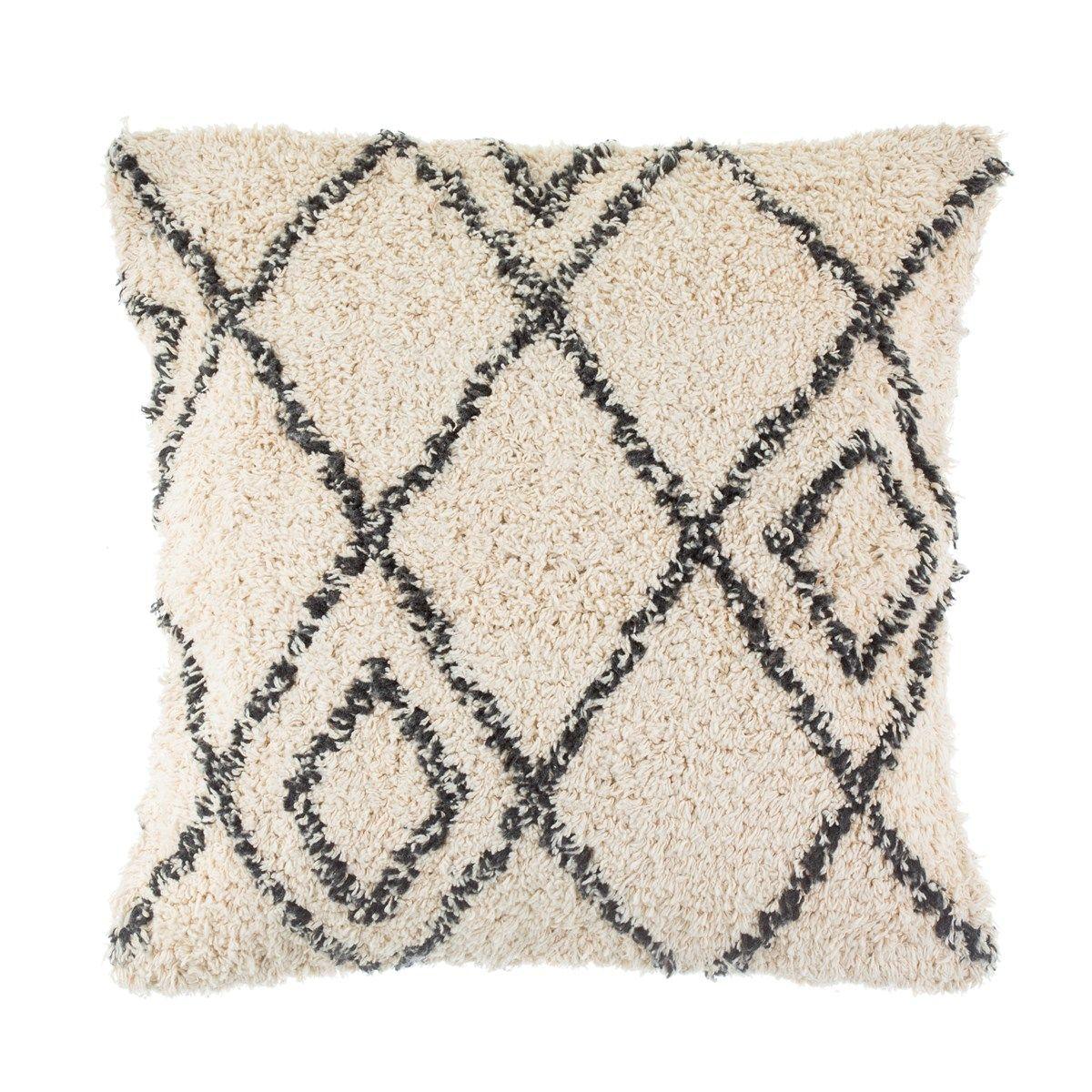 Fashion geometric diamond pillow