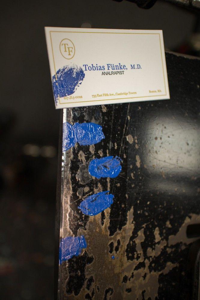 Tobias Fünke\'s Business Card #arrestedDevelopment | Cine y TV ...