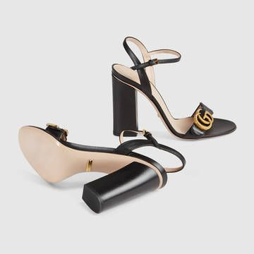 Gucci Leather Sandal Black Leather Sandals Leather