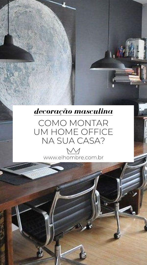 Como montar um home office na sua casa | Decoração...