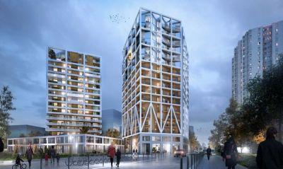 L\'équipe MOA architecture lauréate d\'une tour de logements, près ...