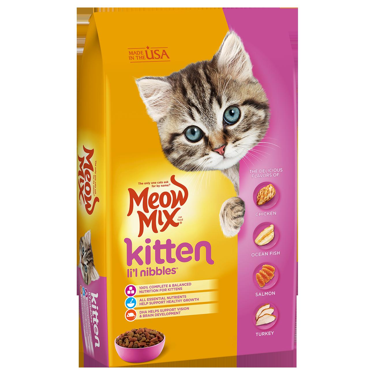 Kitten Li L Nibbles Kitten Food Dry Cat Food Homemade Cat Food