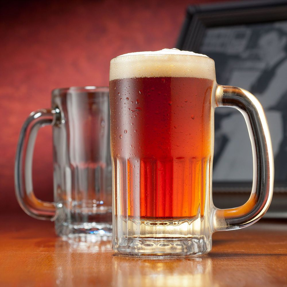 Mcsorley S Old Ale House Mugs Gift Box Set Of 2 Glass Beer Mugs Mugs Gifts For Beer Lovers