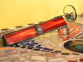 How To Make A Stained Glass Kaleidoscope Making Stained Glass Beach Glass Art Glass Art