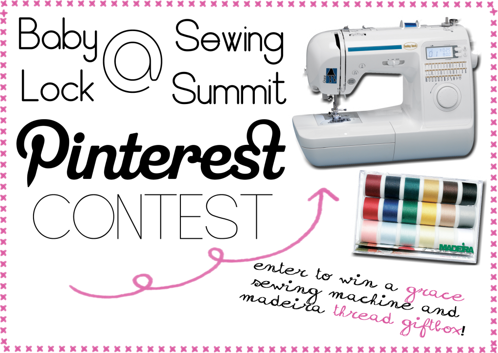 Attention Sewing Summit Attendees Enter To Win A Baby Lock Grace Custom Babylock Grace Sewing Machine