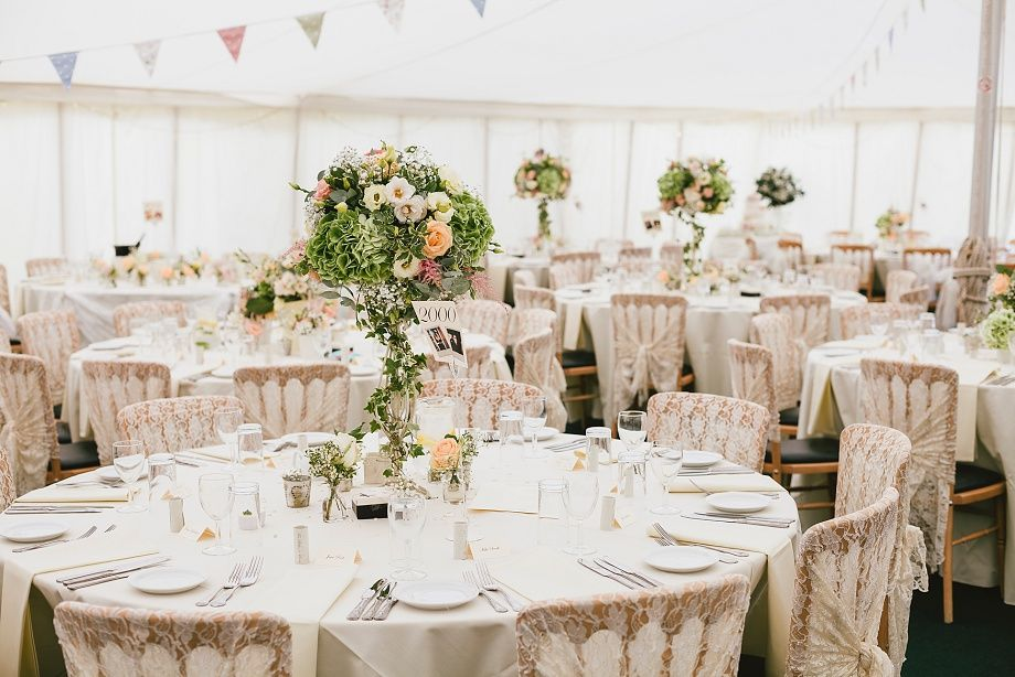 Flowers & decor by Seventh Heaven Events - Wedding at Gants Mill #seventhheavenevents
