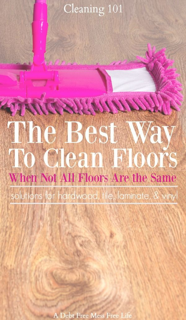 The Correct Way To Clean Floors Via A Debt Free Stress Life