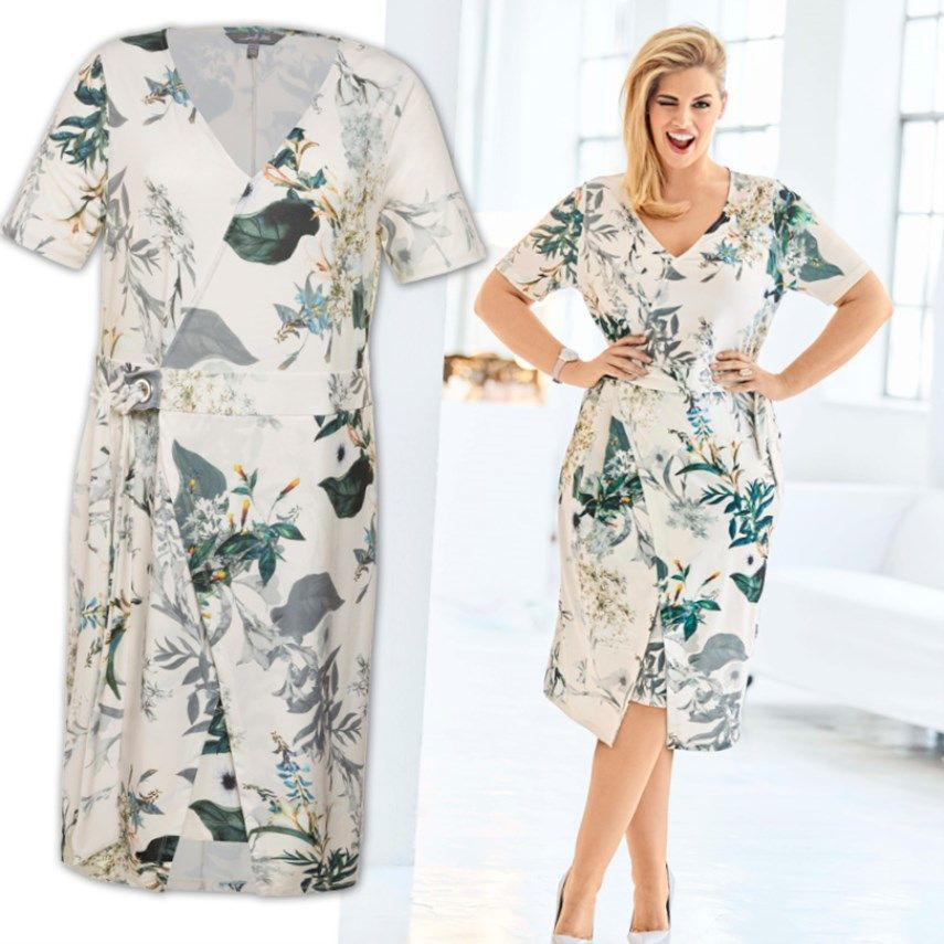 Damen Sommerkleid Grosse Grossen Trend Damenmode Grossegrossen Sommerkleid Modestil Mode