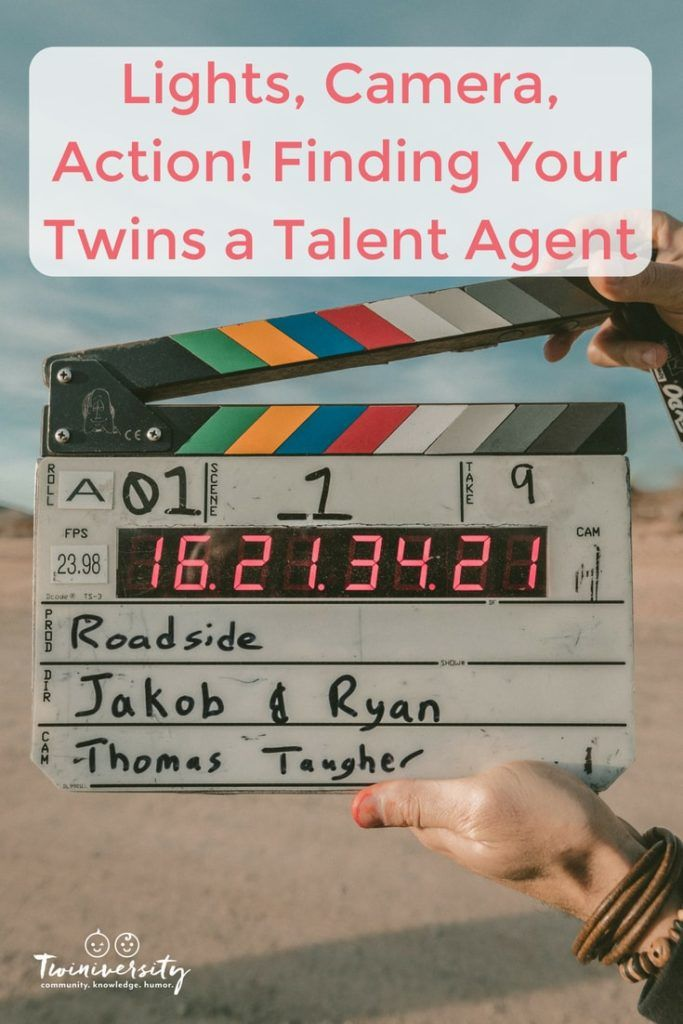 Lights, Camera, Action! Finding Your Twins a Talent Agent