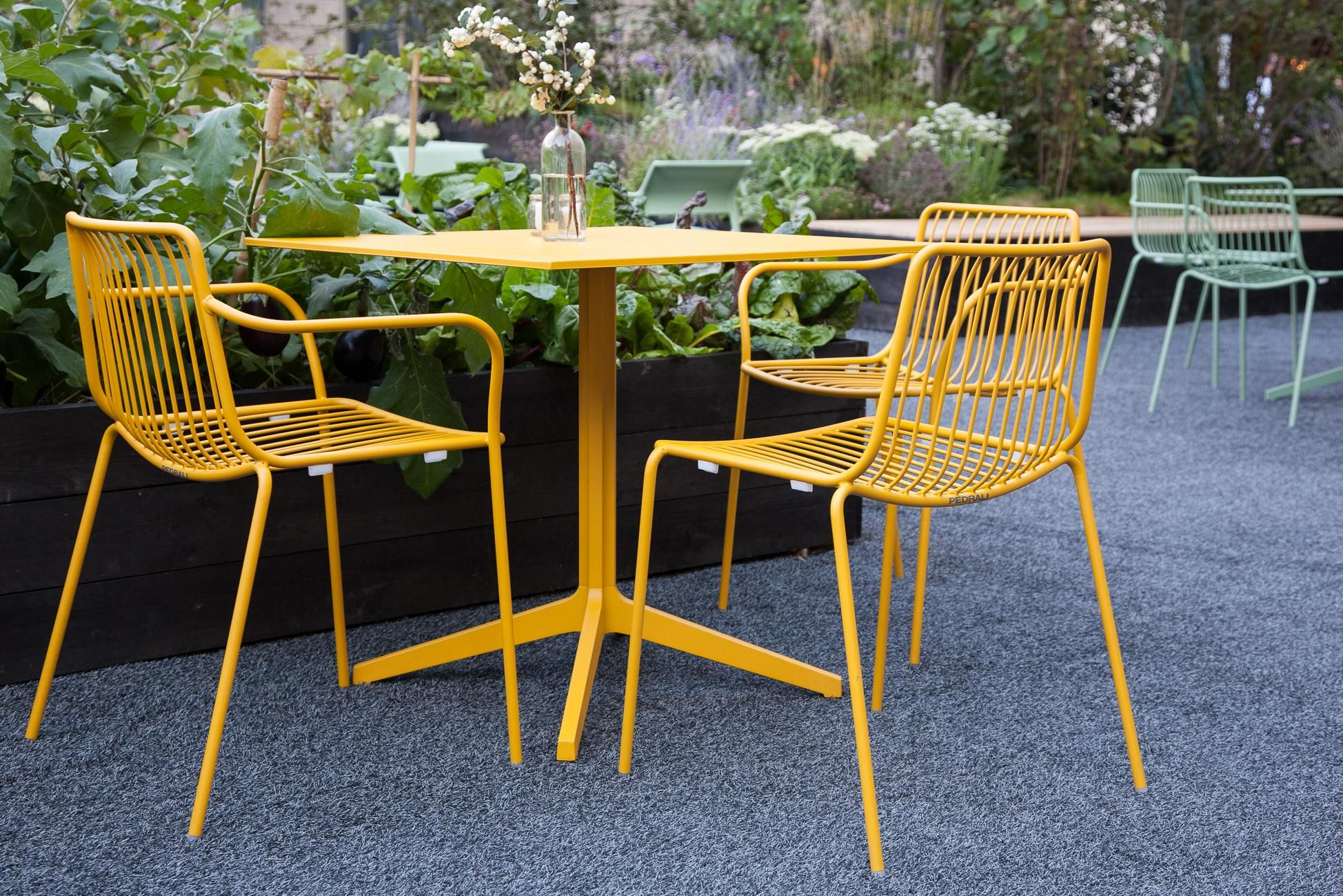 Se Da Giardino e altro Nolita chair a good idea for outdoor spaces Pedrali