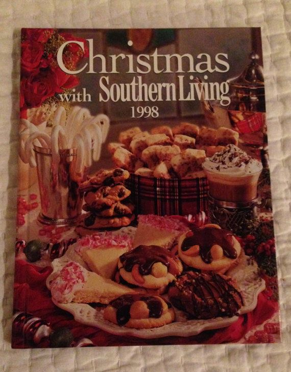 Vintage  Christmas with Southern Living Cookbook by WhisperThePast