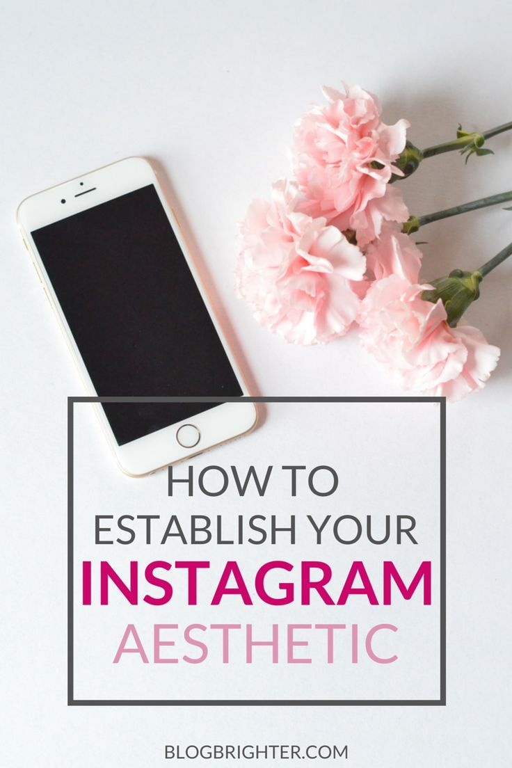 How to Establish Your Instagram Aesthetic - Tips for how to