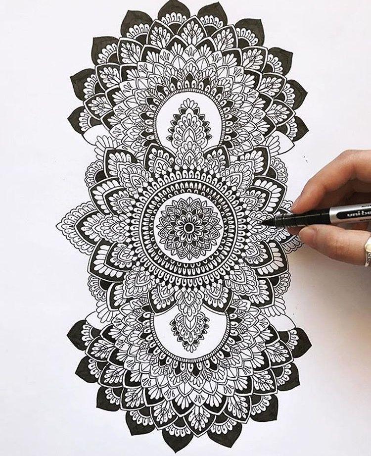 3 Mandalas Beautiful Mandala Artwork Mandala Drawing