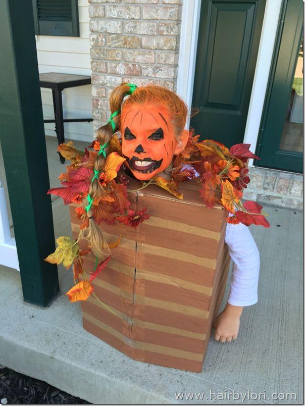 3 Diy Costumes Hairstyles Diy Costumes Jack O Lantern Costume Halloween Hair