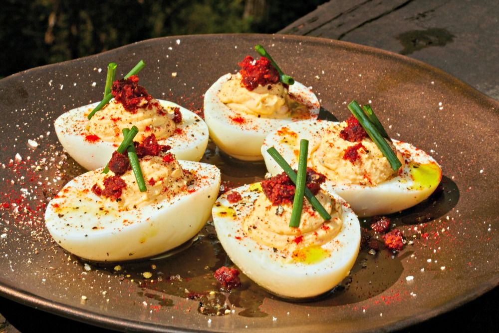Southwestern Deviled Eggs Recipe  appetizer vegetarian recipes dinner recipes healthy meal