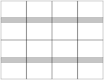 Flashcards Template For NoteReading  Band Stuff