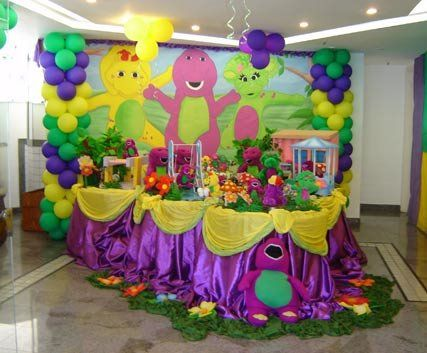 Barney Party Decorations \u2026