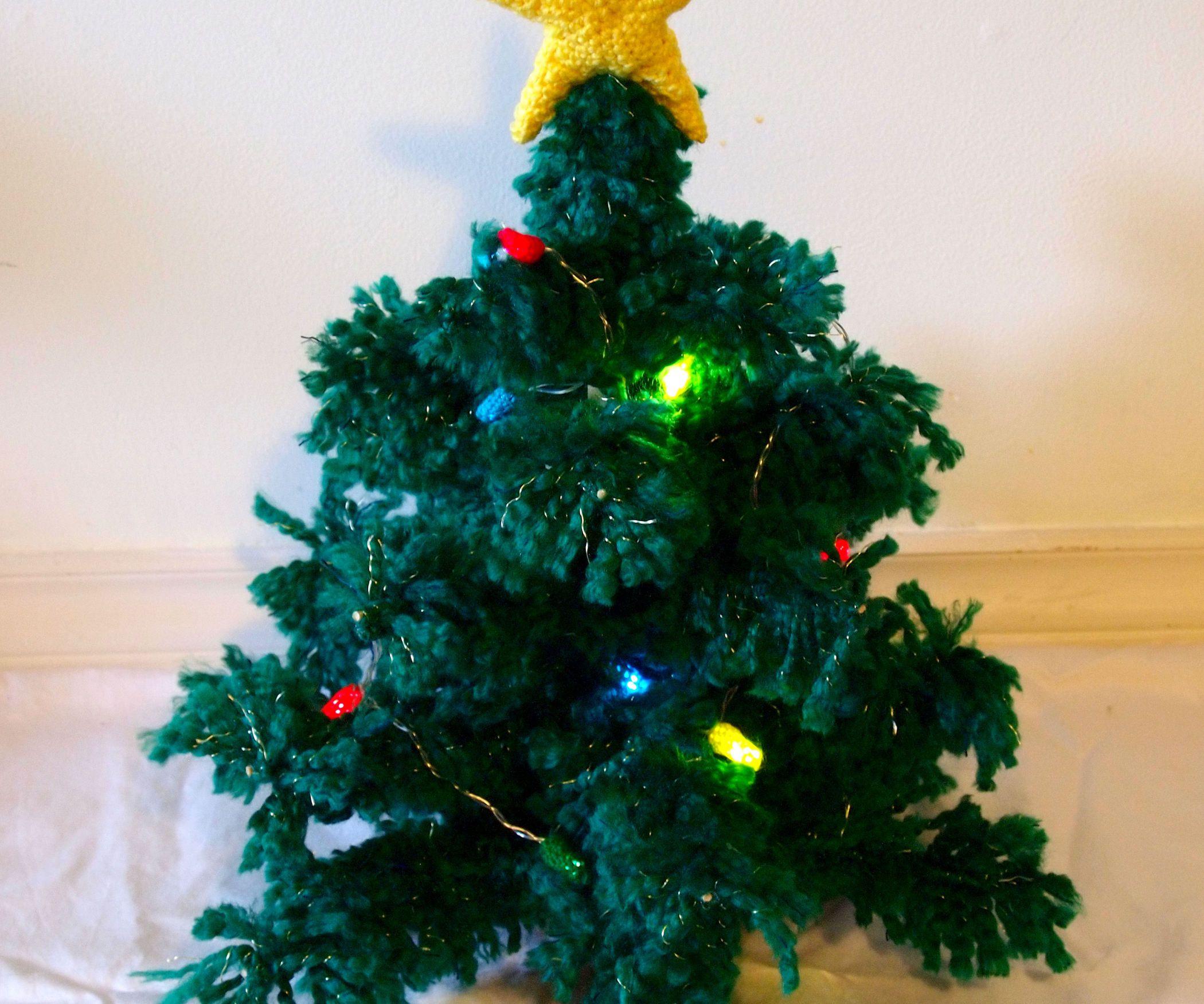 Crochet Christmas Tree   Star tree topper, Crochet christmas trees ...