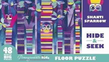 Shanti Sparrow Hide Seek Puzzles Card Games Puzzle