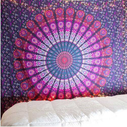 Hot New Indian Mandala Tapestry Hippie Home Decorative Wall Hanging