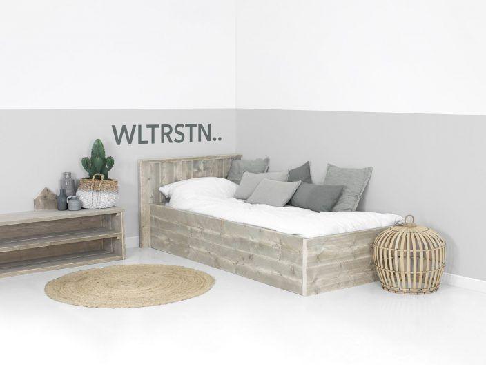 Wohnideen Schlafzimmer Studenten bauholz einzelbett optional mit unterbettschublade wohnideen