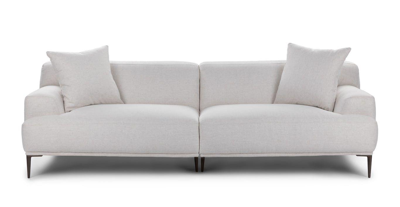 Abisko Mist Gray Sofa Contemporary Decor Living Room Modern