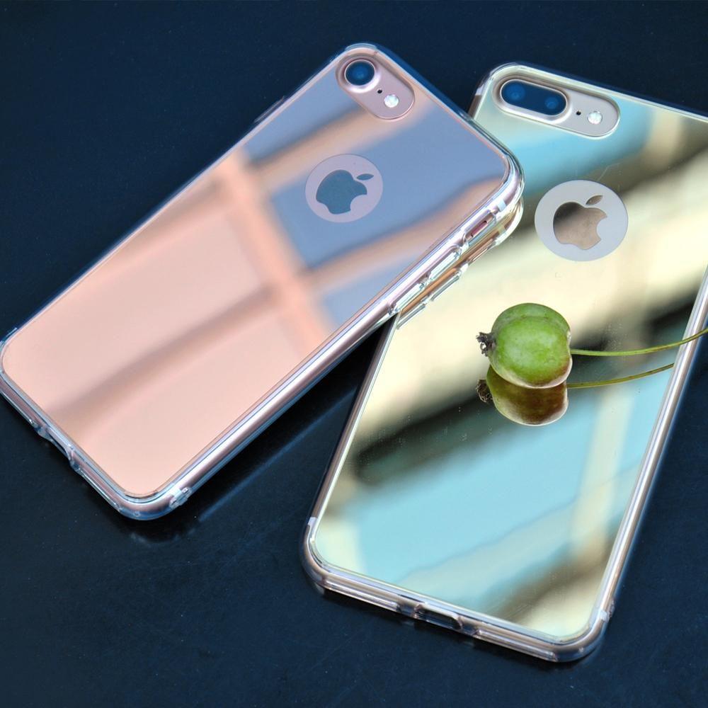 iPhone 7 Plus Case | Mirror in 2021 | Mirror case iphone, Iphone ...
