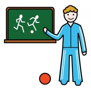 profesor de educación física