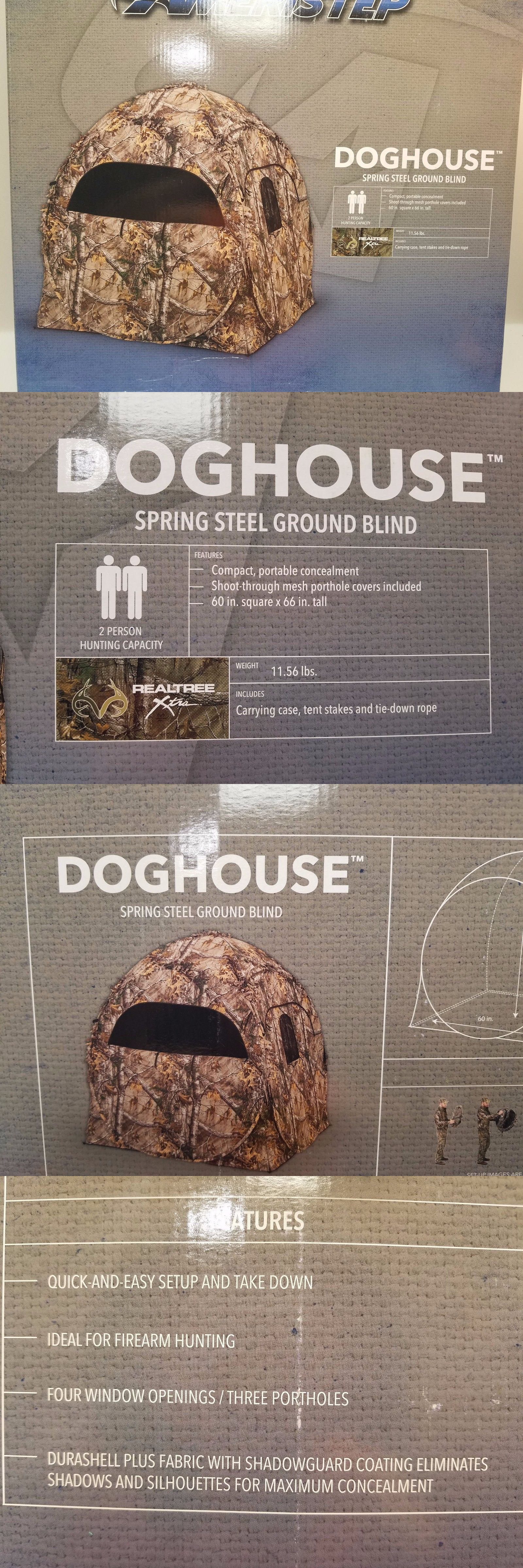 blind sporting person dick ground blinds ameristep doghouse s p is goods