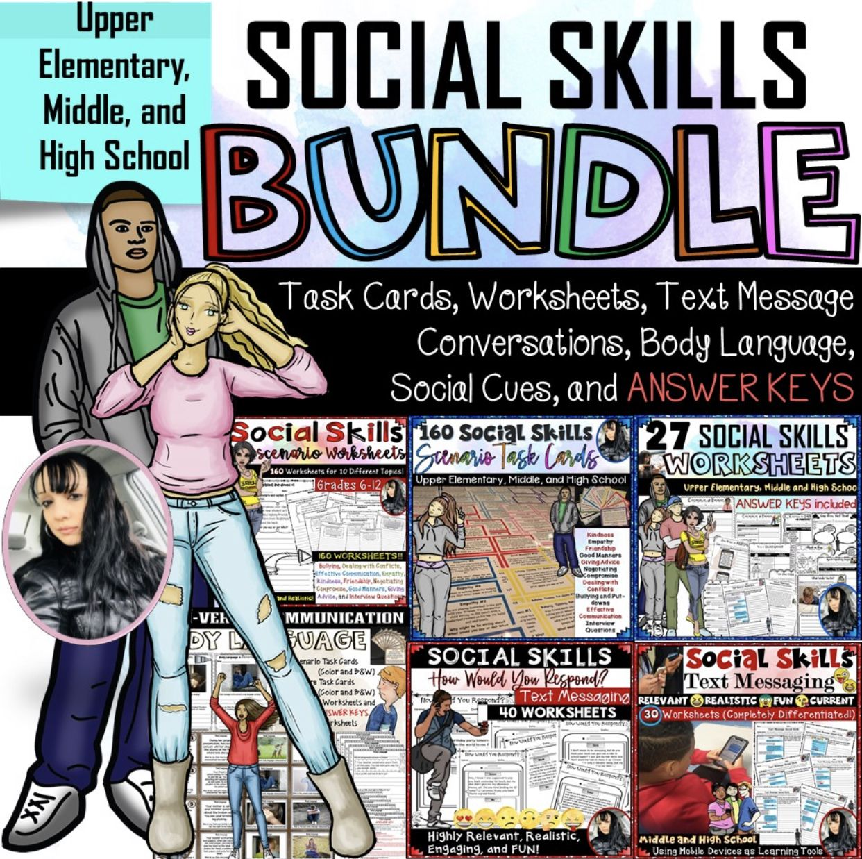 Social Skills Bundle 1 271 Pages Sale