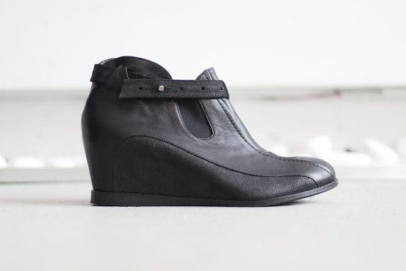 FABIAN  Black  FREE Shipping Handmade Women Shoes by Keymandesign