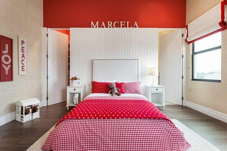 Chambre enfant rouge en 46 idées déco modernes | Chambre Collyne ...