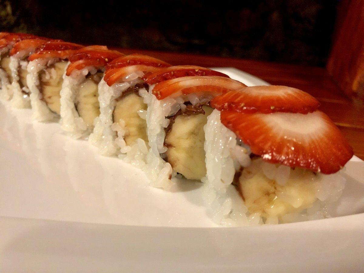 We Tried It: Dessert Sushi Rolls #dessertsushi
