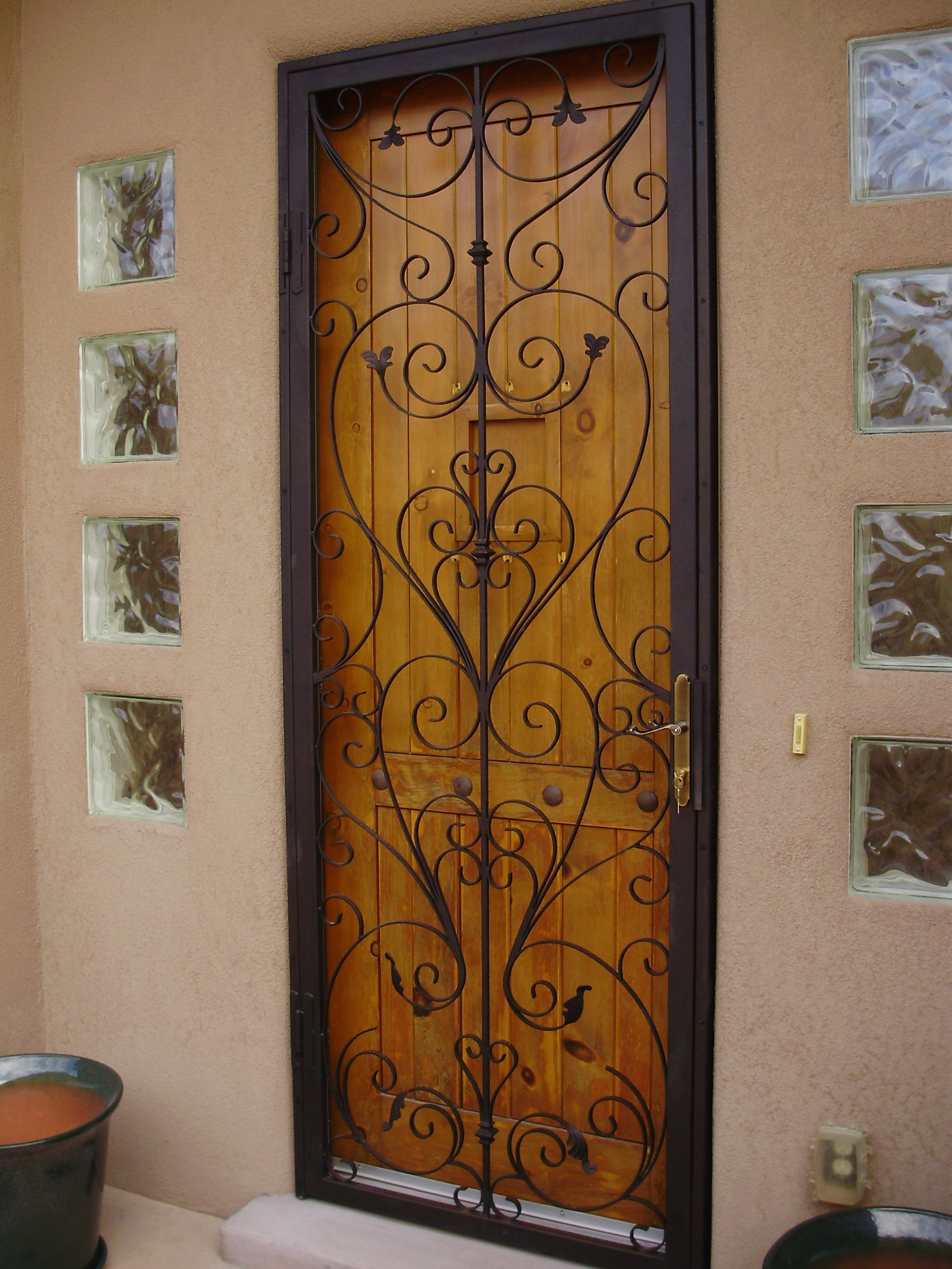 Security Door Designs Amusing Security Door In Las Cruces Nmthey Don't Have To Be Ugly . Design Decoration