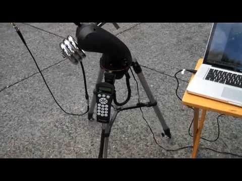▷ Satellite Radio Tracking with Celestron SLT Mount