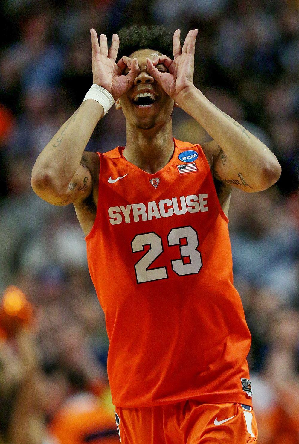 Malachi Richardson Ncaa Tournament Elite Eight S Best Photos Syracuse Basketball College Basketball Ncaa Tournament