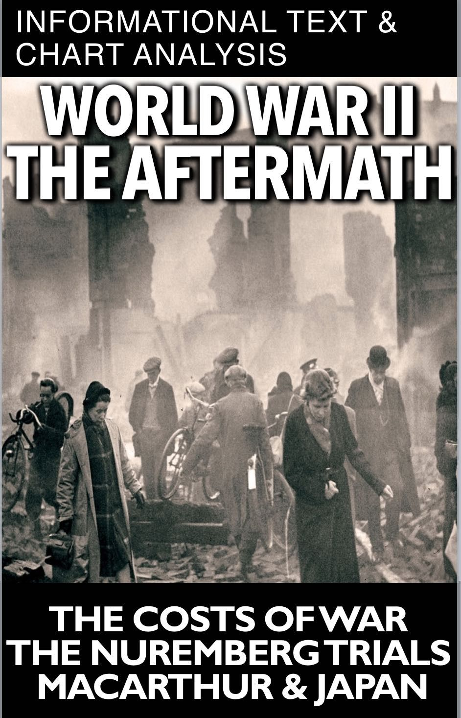 World War Ii Aftermath Informational Text Chart Analysis Takes