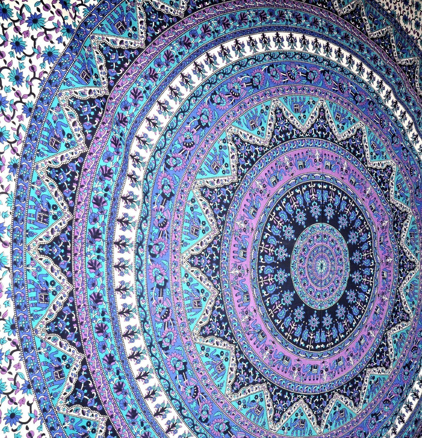 Large Tapestry Wall Hangings amazon - large indian mandala tapestry hippie hippy wall