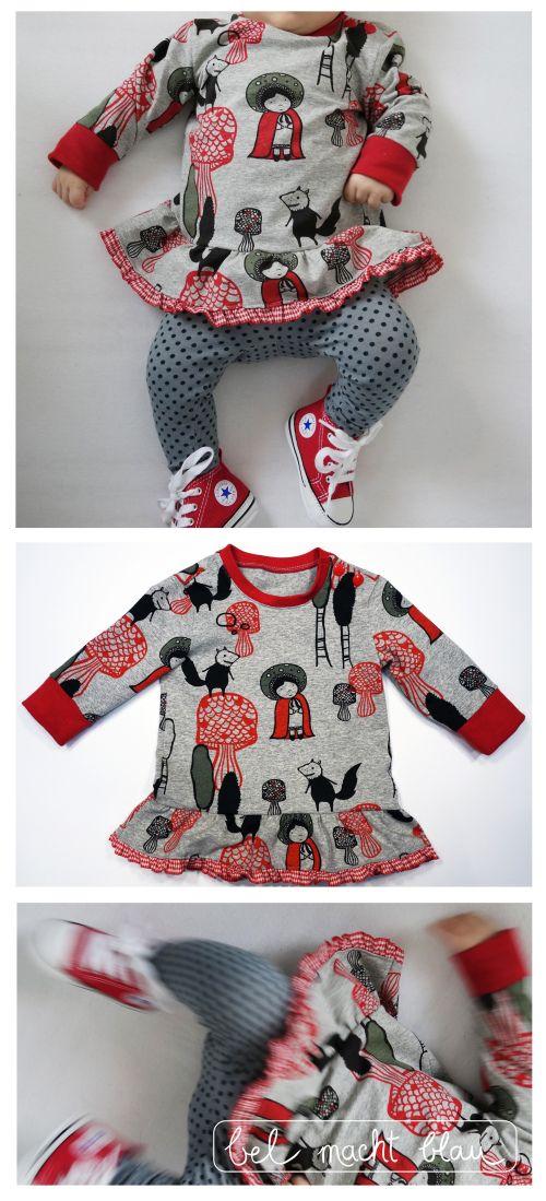n hanleitung baby kleidchen baby sweater variation n hideen. Black Bedroom Furniture Sets. Home Design Ideas